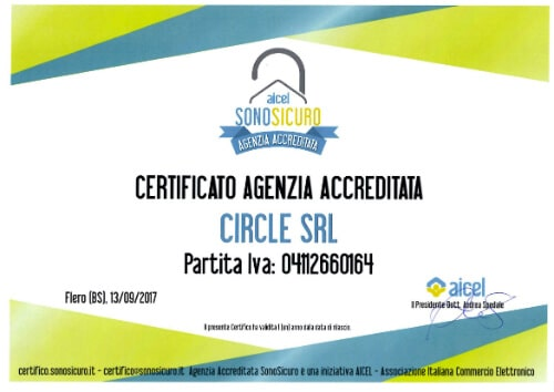 Aicel Certificato