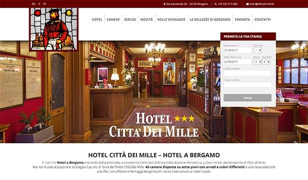 Hotel Città Dei Mille Homepage