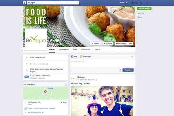 Bevegan Campagne Facebook Marketing